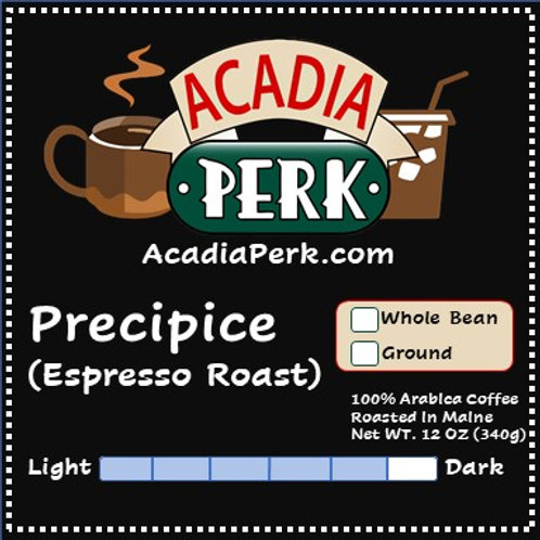 Precipice Espresso Roast Coffee