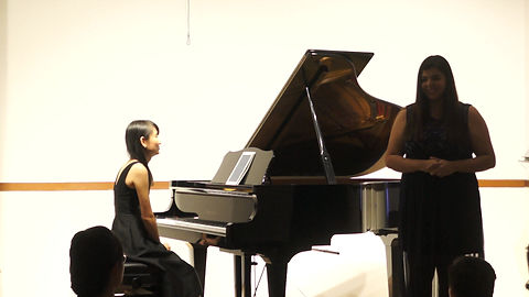 Video of me accompanying a Singaporean Mezzo Soprano Singer Ms Shireen during Masterclass