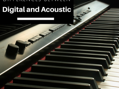 Differences Between Acoustic And Digital Piano