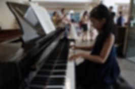 Amelia individual piano student