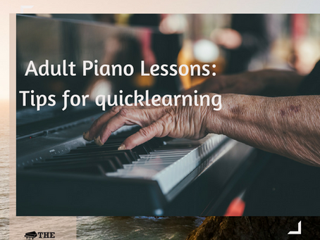 Adult Pіаnо Lеѕѕоnѕ: 5 Tірѕ for Quicklearning