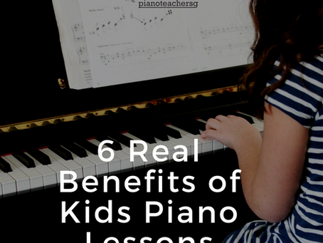 6 Real Benefits Of Kids Piano Lessons