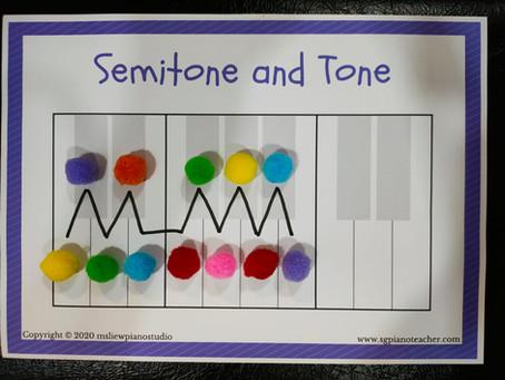 Teaching Semitone and Tone