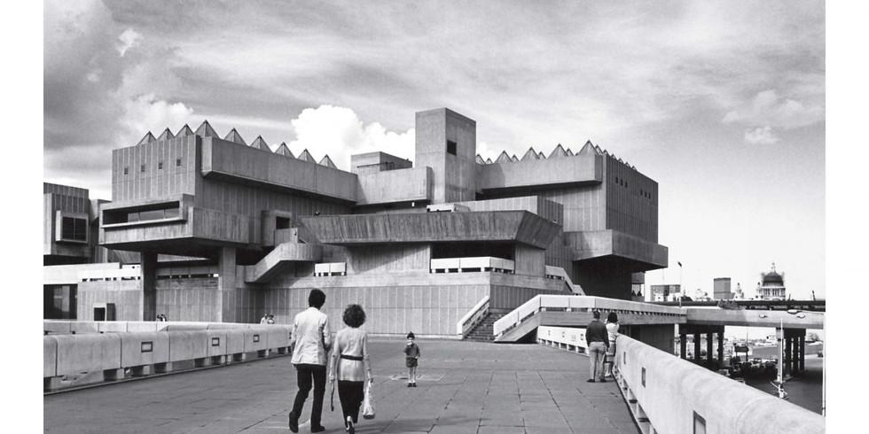 London Brutalist Architecture Ride - 20 miles