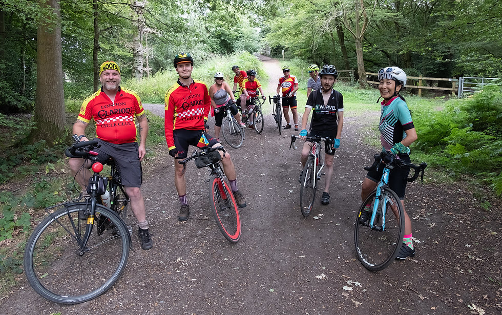 London Clarion Cycling Club ride Epping