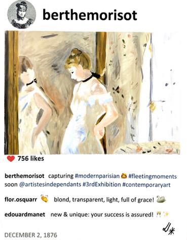 2019 Berthe's modern parisian 14x11 Laur