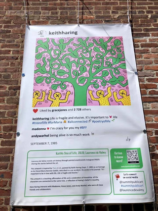 Keith Haring Laurence de Valmy Summit Public Art