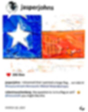 2019 Jasper's flag 14x11 Laurence de Val