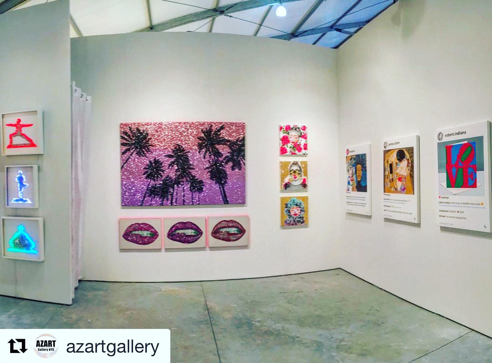 Art Miami Beach Azart Gallery Laurence de Valmy