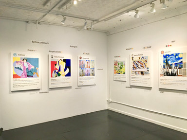 Solo exhibition Michele Mariaud Gallery, NYC