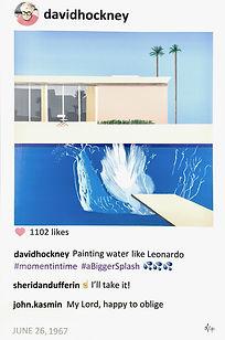 2018 David Bigger splash 36x24 L de Valm