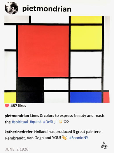 2018 Mondrian and Katherine 24x18 Lauren