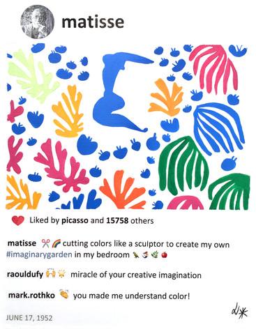 2019 Henri Imaginary garden 14x11 Lauren