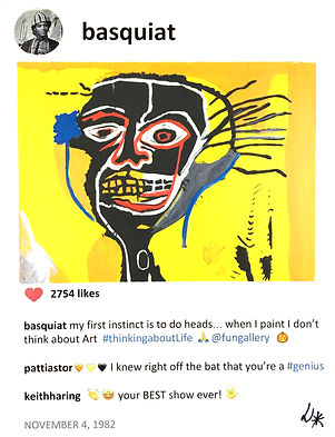 2019 Basquiat and Cabeza 14x11 Laurence