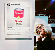 LA Art Show Laurence de Valmy Andy Warhol