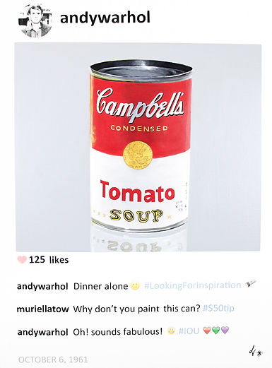 Andy Warhol on Instagram : POST series by Laurence de Valmy