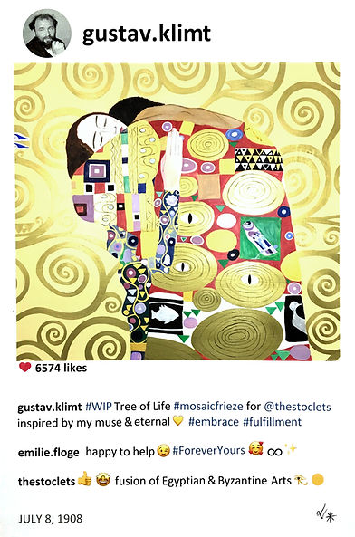 2019 Klimt and the tree of life 60x40.jp