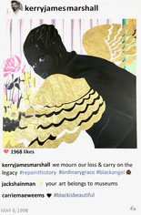 Kerry James Marshall  Laurence de Valmy