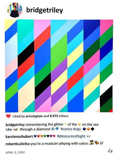 2020 Bridget memories 40 x30 Laurence de