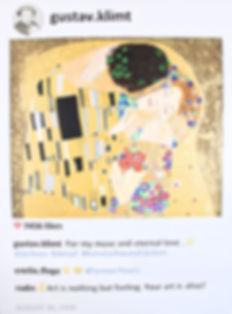 Roy Lichtenstein in POST series by Laurence de Valmy