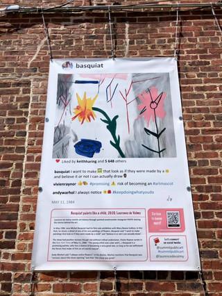 Basquiat Laurence de Valmy Summit Public Art