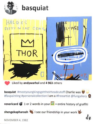 2020 Basquiat and Charlie 14x11 .jpg