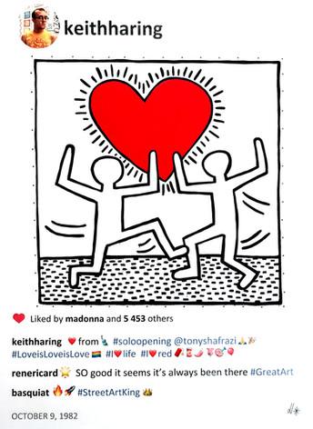 2020 Keith Love is Love is Love 40x30.jp