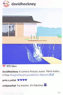 2018 David Splash 36x24 Laurence de Valm