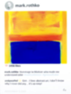 Mark Rothko in POST series by Laurence de Valmy