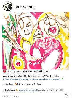 2020 Lee Sun Woman 40 x30 Laurence de Va
