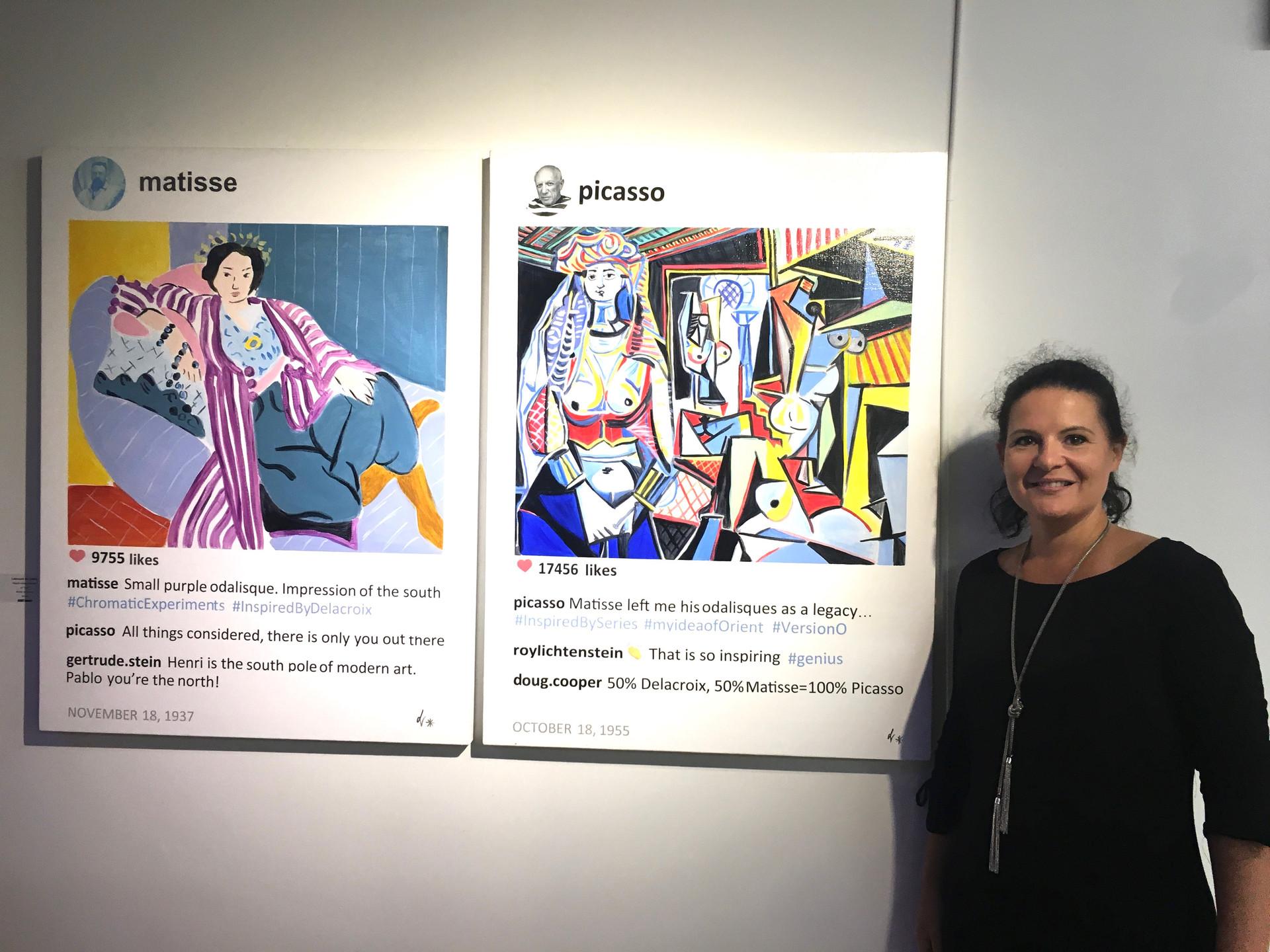 Art History and Instagram Laurence de Valmy Azart Gallery