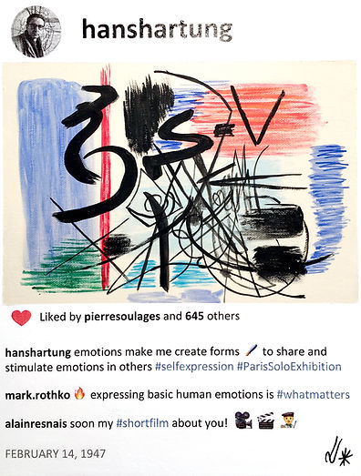 2019 Hans and emotions 14x11 L de Valmy.