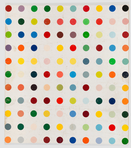 Damien Hirst Untilted (with black dot) 1988
