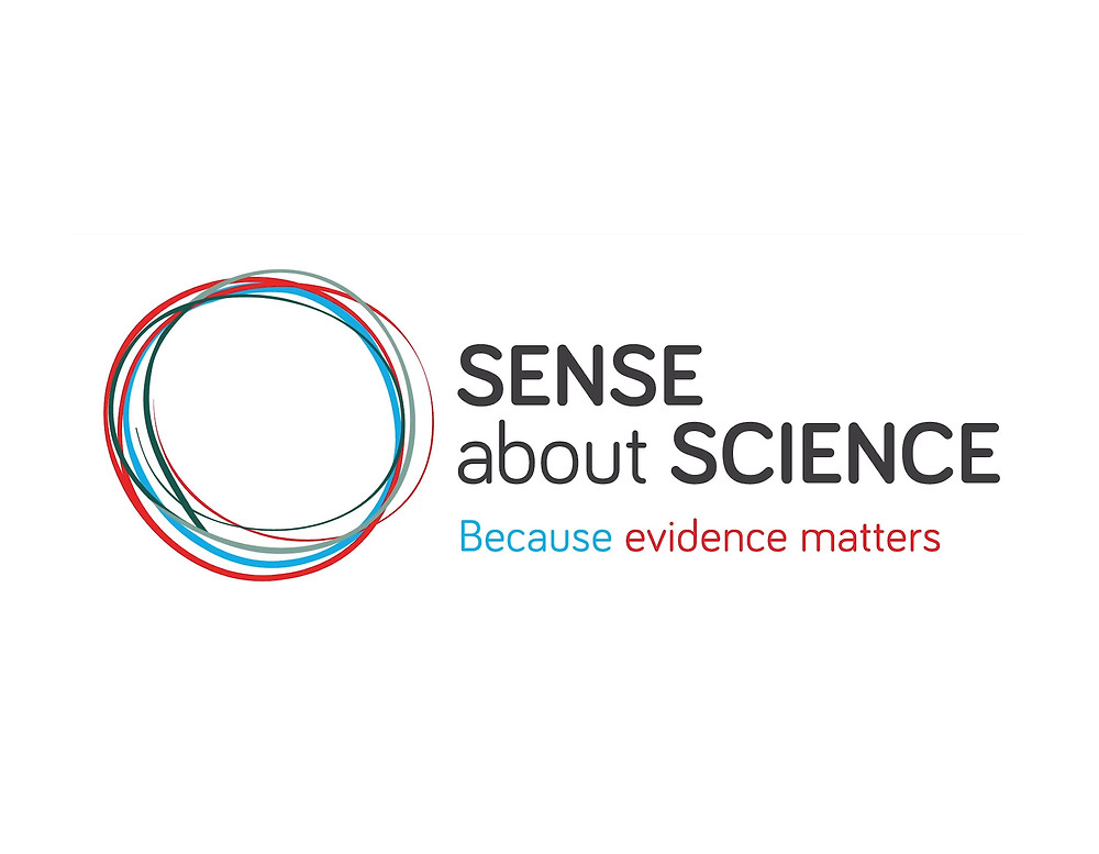 Sense about Science - Because evidence matters logo