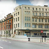 Photo of the Exterior of Moorfields Eye Hospital in London (NHS)