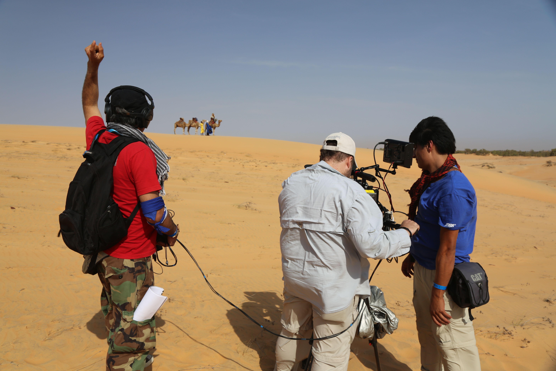 Camellando en el Desafio Africa 2013