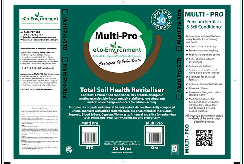 Multi Pro - Total Soil Health Revitaliser