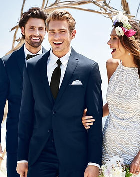 wedding suit navy michael kors