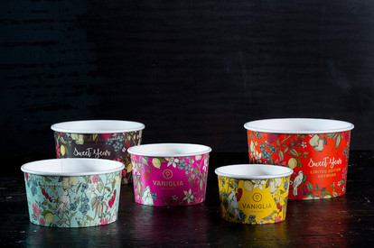 vaniglia ice cream cups