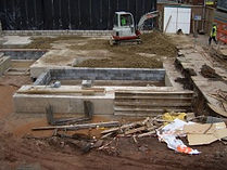 strip footings, mass and trench fill concrete designs