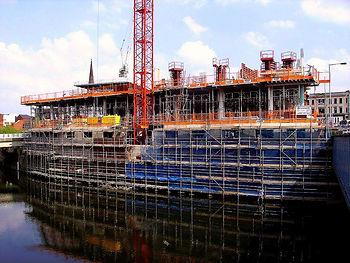 Temporary works, scaffold design