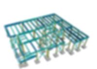Steel frame design