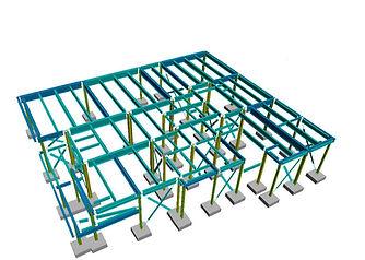 Steel frame design