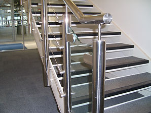 Stainless Steel staircase design