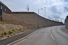 Retaining walls and slope stabilisation