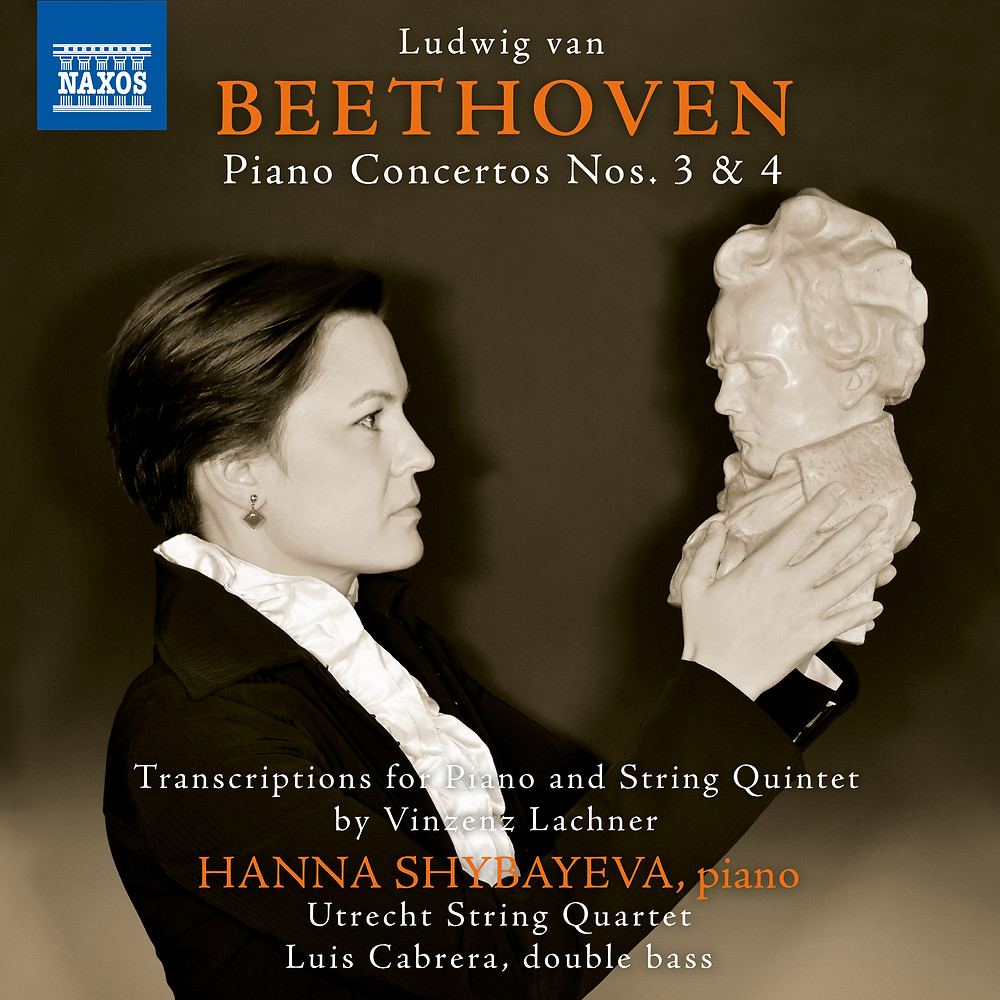 This is the first album in a series of complete Piano Concertos by L.van Beethoven recorded for Naxos Label. The exiting detail about this series is that it is recorded in a chamber music version by Vinzenz Lachner for piano and string quintet! Stay tuned for more!