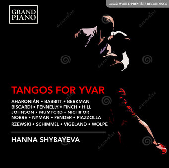 Order your copy of my new album TANGOS FOR YVAR here: