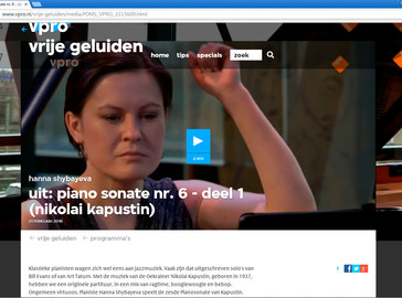 Vrije Geluiden 22 February 2016 Bimhuis Amsterdam