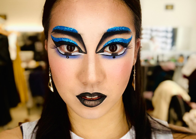VITORI Cirque Du Soleil makeup