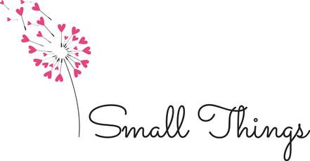 small things design logo